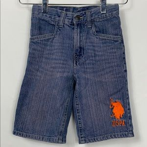 U.S. Polo Ass. Jean shorts size 5.